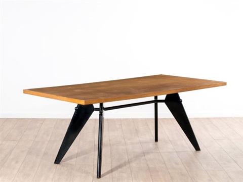 Table Mod S A M N 506 Demontable Fabrique Par Jean Prouve