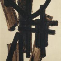 brou de noir 65x50 cm 1952 pierre soulages