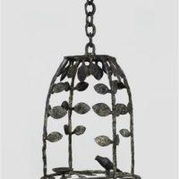 Image de Lanterne aux feuilles et oiseau, 1975