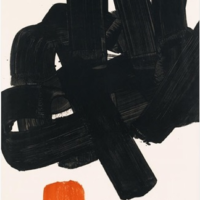 lithographie 24b 1969 pierre soulages