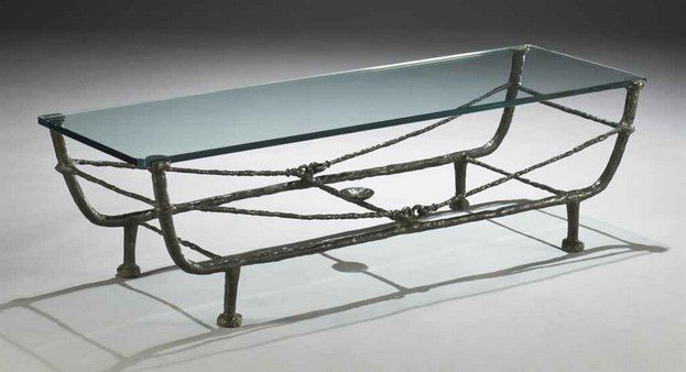 table berceau premi re vision 1963 de diego giacometti. Black Bedroom Furniture Sets. Home Design Ideas