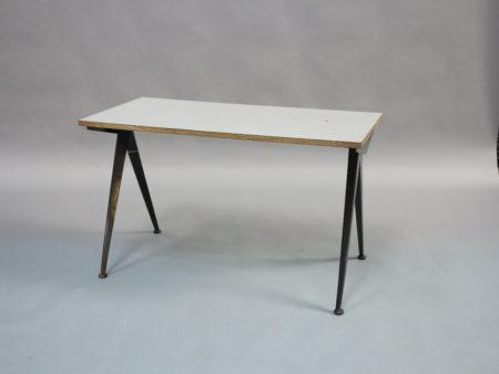 Audacieux Table Compas, Circa 1950 | Oeuvre de Jean Prouvé PD-75