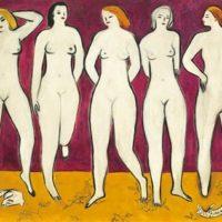 Image de Five Nudes, 1950