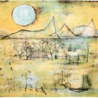 montagnes et soleil zao wou-ki