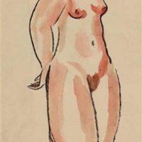 Image de Nu Debout, 1920-1930