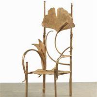 sculpture trone de pauline claude lalanne