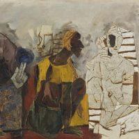ritual 1968 maqbool fida husain