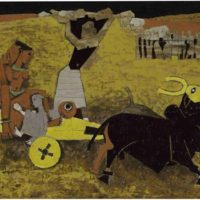 Image de Peinture «Yatra», 1955