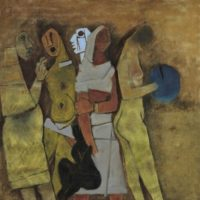 image four women maqbool fida husain