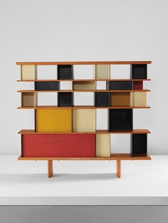 biblioth que maison du mexique oeuvre de charlotte perriand. Black Bedroom Furniture Sets. Home Design Ideas