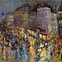 Image de Peinture «Boulevard des Capucines», 1912