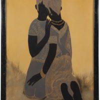 Image de Peinture «Deux figures à genoux», 1929