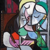 femme écrivant marie therese pablo picasso