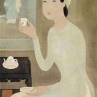 Image de Peinture «L'heure du thé», 1943
