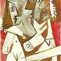 Image de Peinture : «Homme et Femme», 1969
