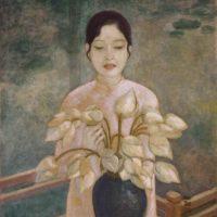 Image de Peinture «La Jeune Fille De Hué», 1937