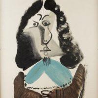 Image de Peinture : «Mousquetaire buste»,1967
