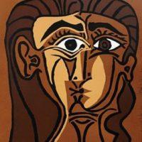 portrait de jacqueline de face ii (bloch 1063) pablo picasso