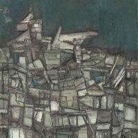 peinture benaras landscape ram kumar