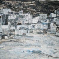 Image de Peinture «Sans titre (Benares at Night)», 1990