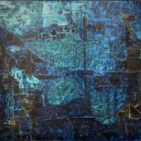 tableau blue abstract ram kumar
