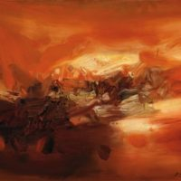 Image de Peinture «Composition No. 338», 1970