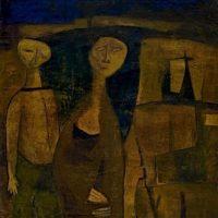 Image de Peinture «Dreamers», 1950