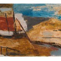 peinture goa landscape ram kumar