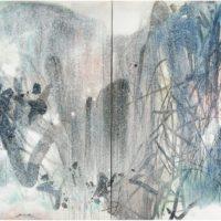 peinture inspiration hivernale chu teh-chun