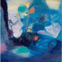 Image de Peinture «Partie bleu», 1984