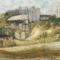 Image de Peinture «Paysage urbain», 1954