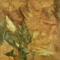 peinture falling bird ram kumar