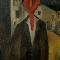 Image de Peinture «Jeune étudiant», 1958