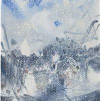 peinture printemps hivernal chun teh chun