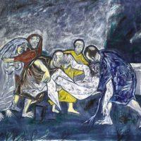 peinture the deposition francis newton souza