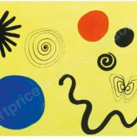 Image de Peinture « Il serpente », 1961