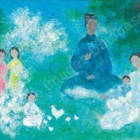 Image de Peinture « La Famille », 1984