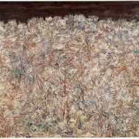 Image de Peinture « Paysage aux griffures », 1953