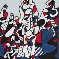 Image de Peinture « Promenade Agreste », 1974